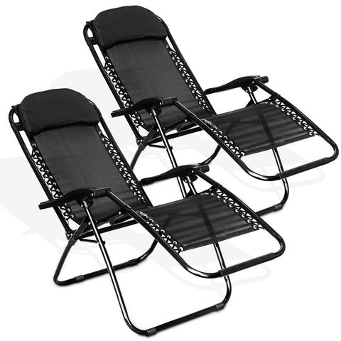 Set of 2 Zero Gravity Reclining Chair