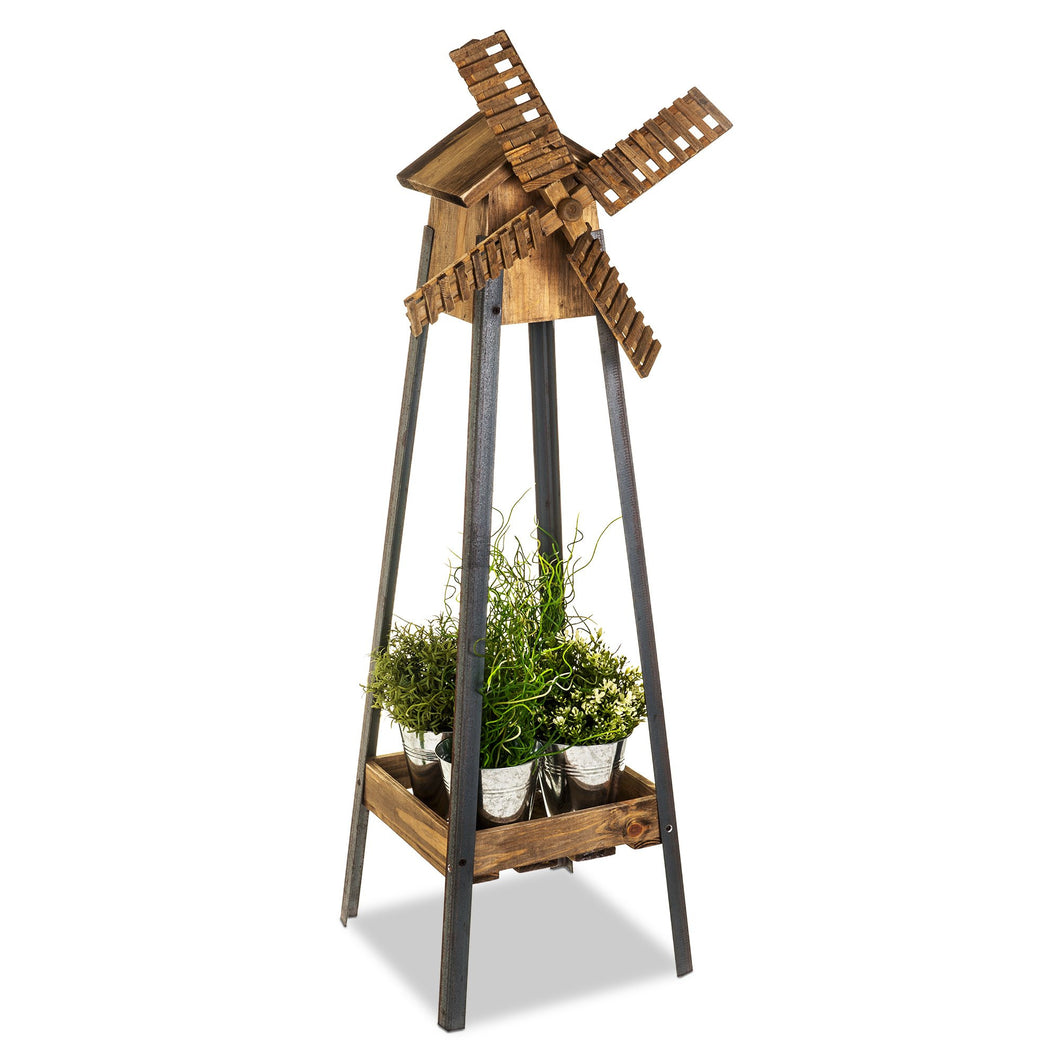 Garden Windmill Planter