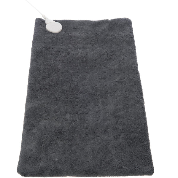 Electric Coral Fleece Body Heat Pad Grey