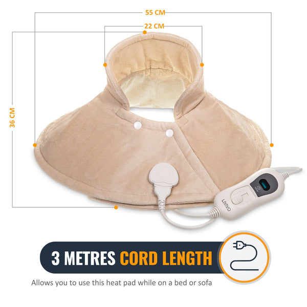 Electric Thermal Therapy Heat Pad for Neck & Shoulders