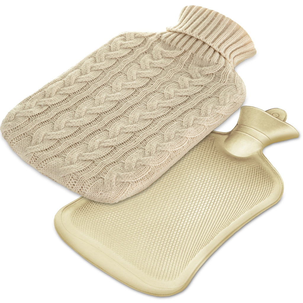 Large 2L Hot Water Bottle With Removable Cover