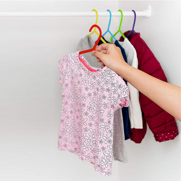 Kids Hangers Multi-colour - Pack of 40