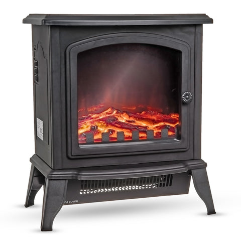 Compact Log Effective Fire Stove Heater