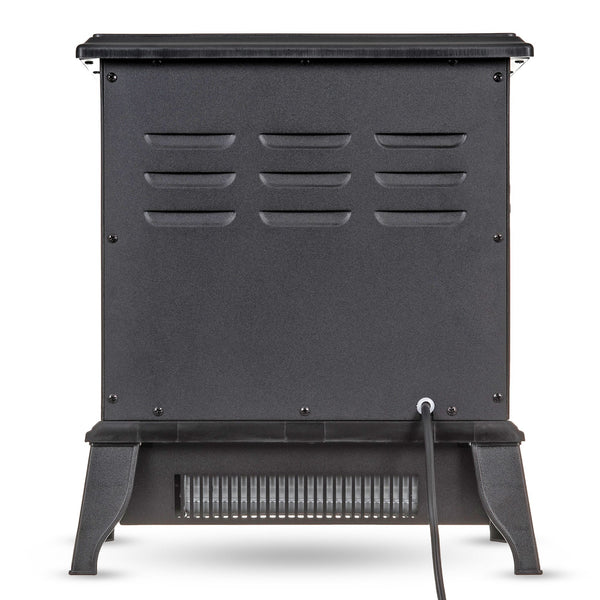 LOG EFFECT COMPACT ELECTRIC STOVE