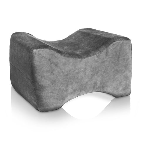 Memory Foam Leg Contour Pillow - Grey