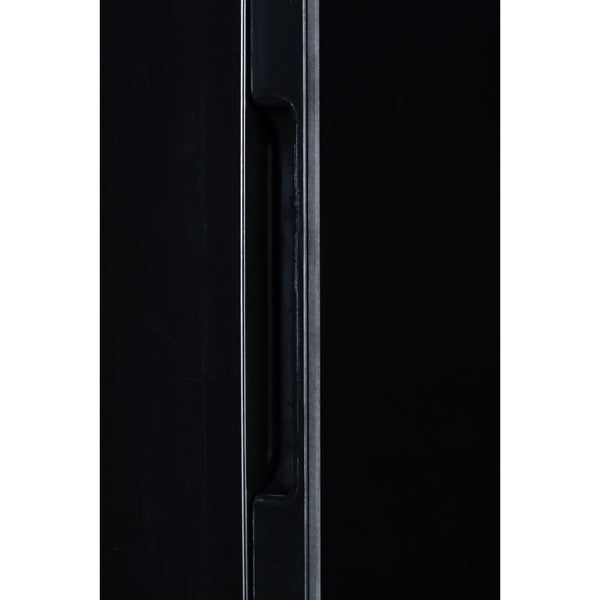 4L Glass Door Mini Fridge - Black