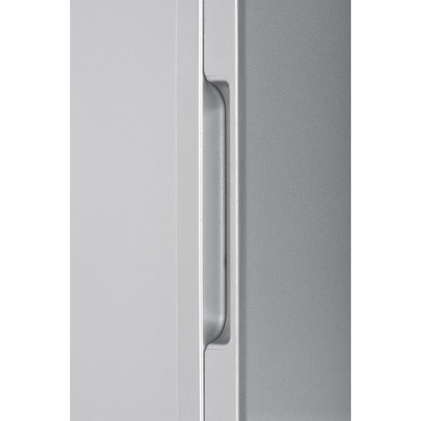 4L Glass Door Mini Fridge - Silver