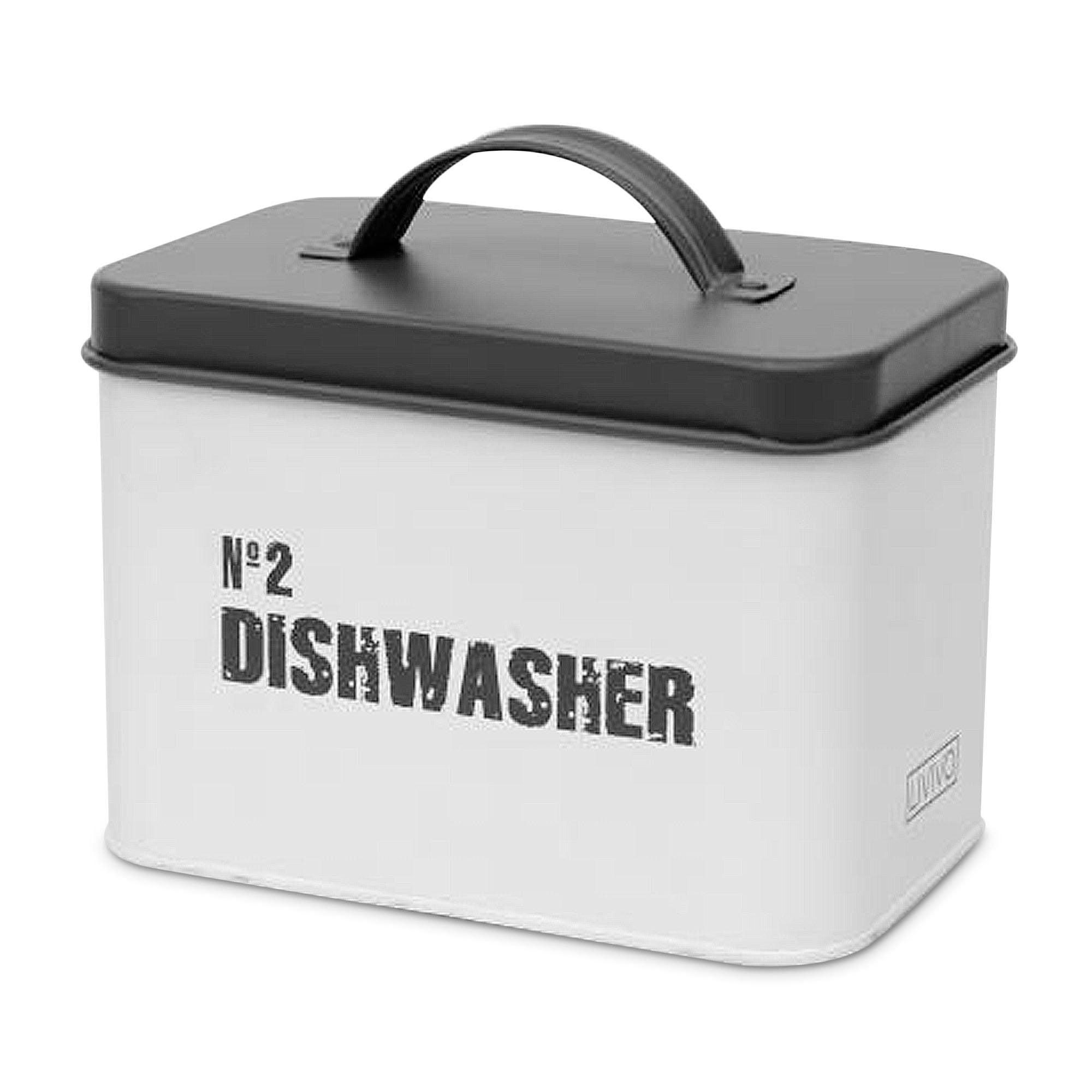 Metal Dishwasher Powder Box