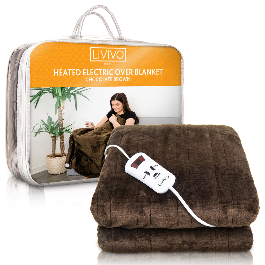 Heated Electric Over Blanket Throw