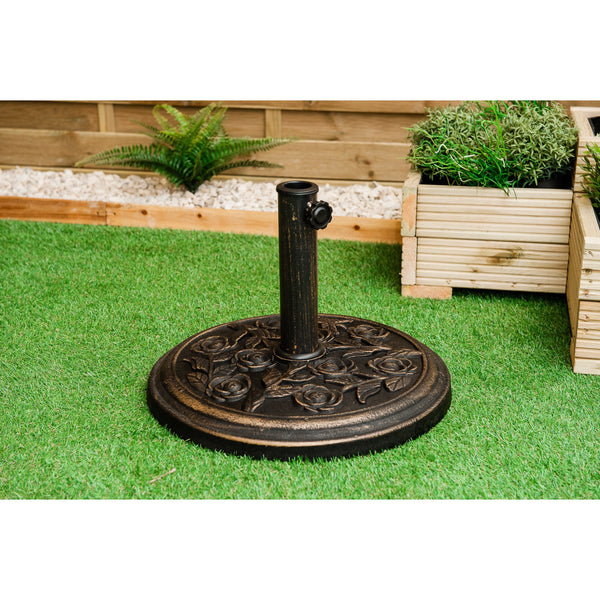 Heavy Duty 9KG Iron Parasol Base Holder