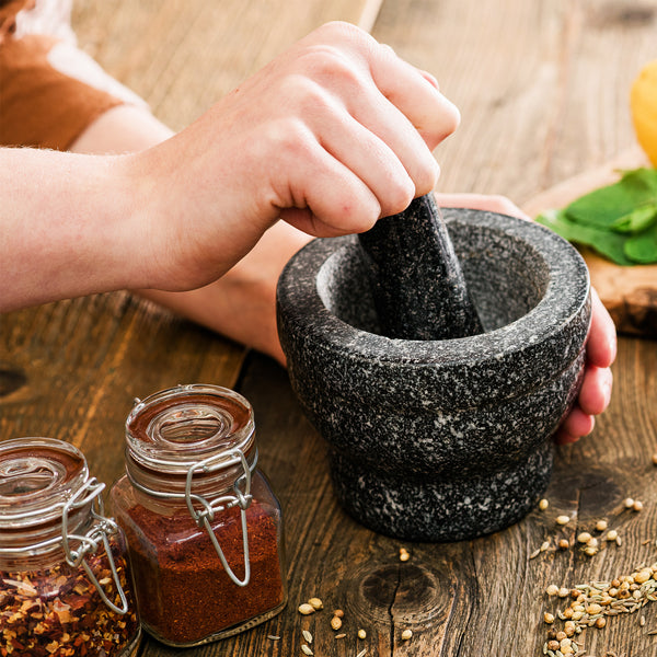 Pestle and Mortar Spice Herb Crusher