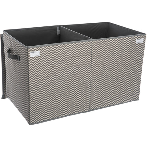 Folding Collapsible Fabric Chest and Laundry Bin