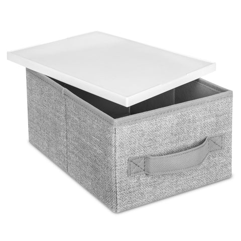 Collapsible Fabric Stackable Storage Box Set