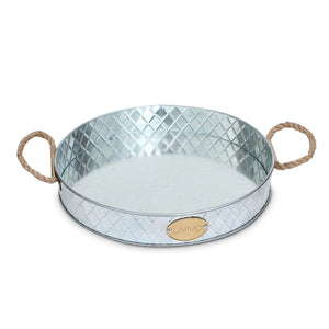 Galvanised Serving Tray