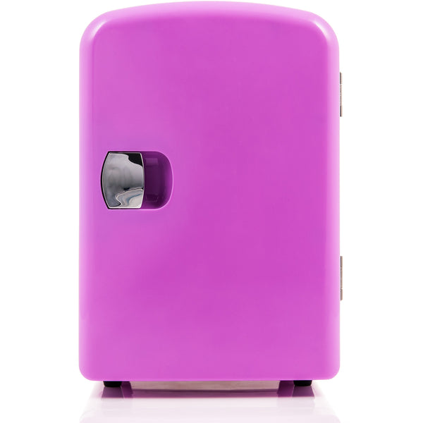 4L Mini Fridge - Pink