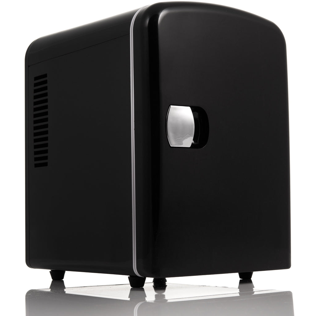 4L Mini Fridge - Black