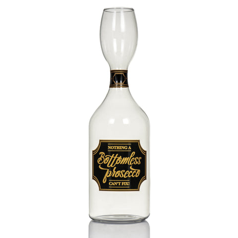 Giant Bottomless Prosecco Glass Bottle