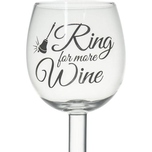 Wine Glass With Bell