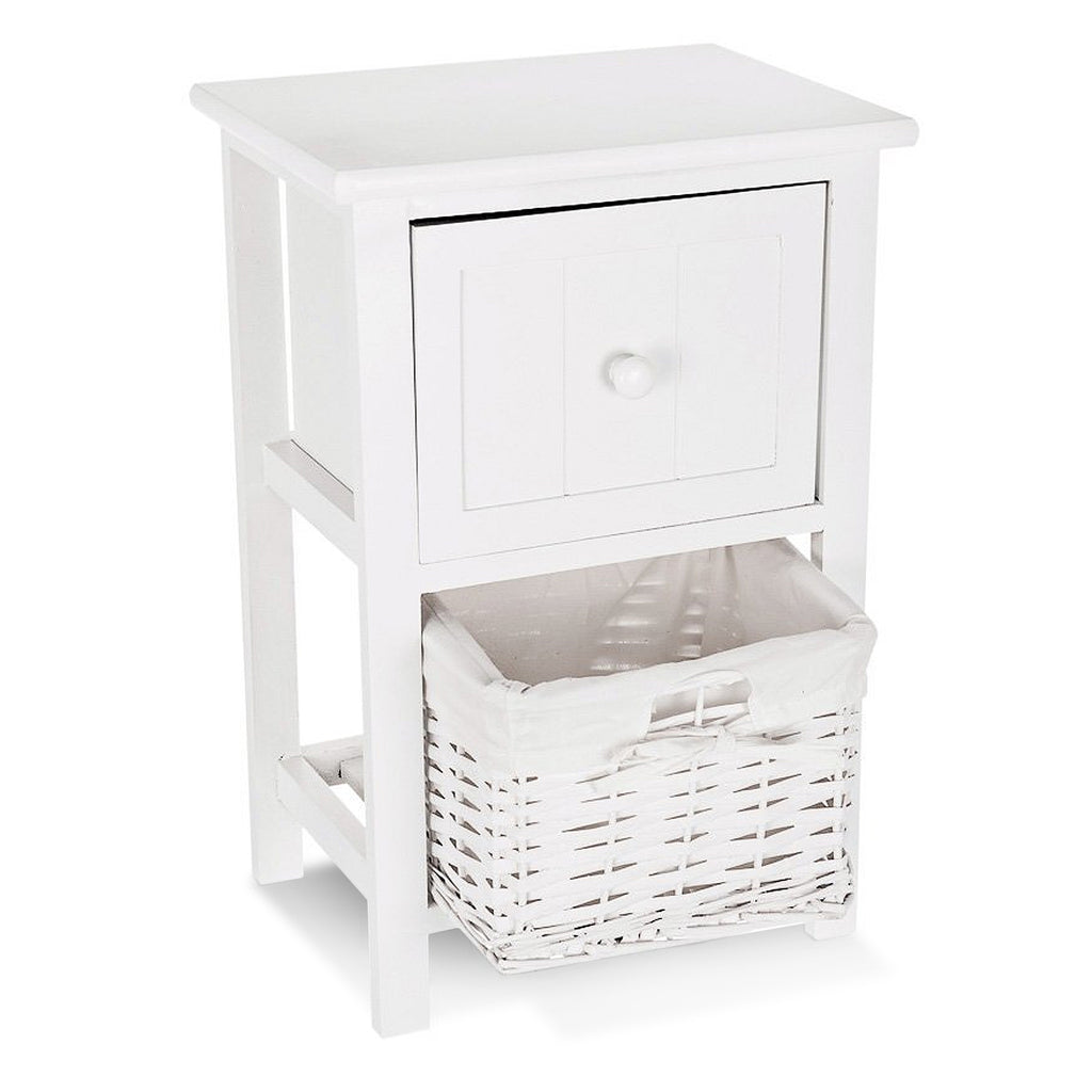 Shabby Chic Bedside Cabinet - LIVIVO
