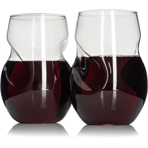 Set of 2 Signature Glass Gift Set