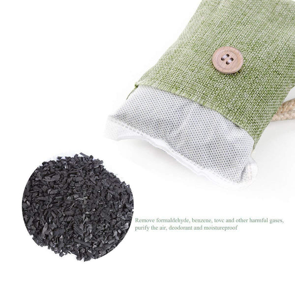 Set of 4 Air Purifier Bamboo Charcoal Bags