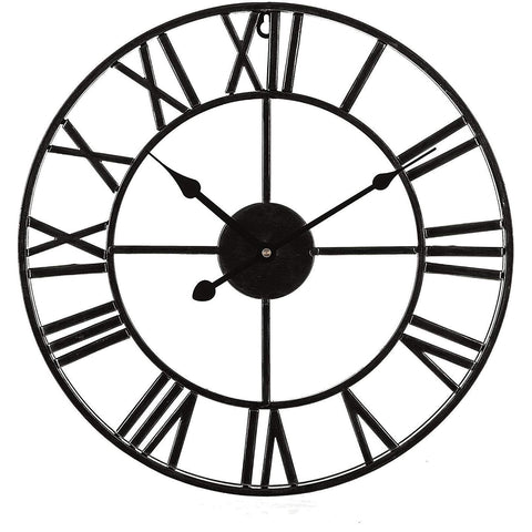Traditional Vintage Style Roman Wall Clock 60cm
