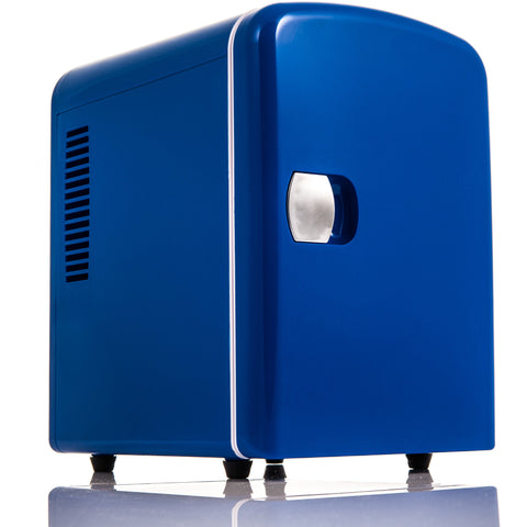 4L Mini Fridge - Blue