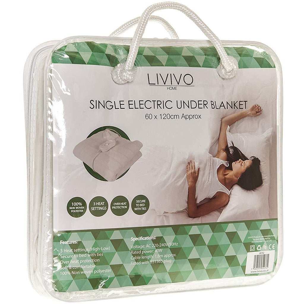 Single Electric Under Blanket