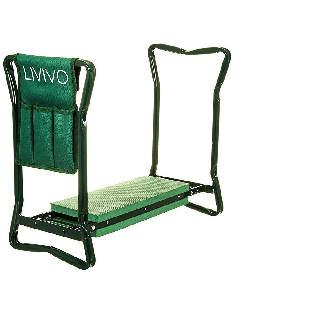 2 in 1 Foldable Garden Kneeler With Pouch - LIVIVO