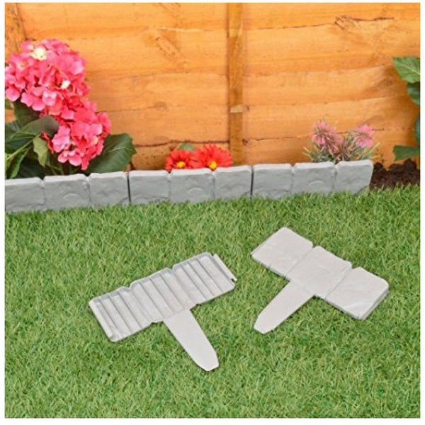 Pack of 10 Instant Fit Interlocking Cobbled Stones
