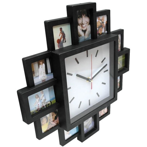 12 Photo Wall Clock