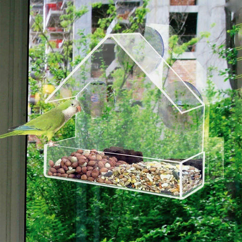 WINDOW BIRD FEEDER - SMALL