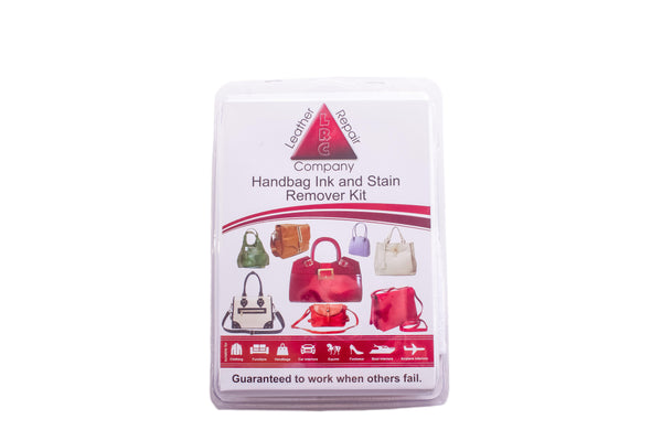 Handbag Ink Amp Stain Dye Remover Kit Leather Repair Company