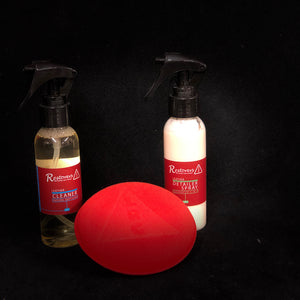 Leather Cleaner & Leather Detailer Spray FREE Pad