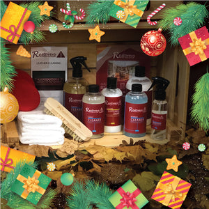 Leather Care Hamper