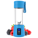 Portable Mixeur des Fruits rechargeable USB,Mini Blender Pour Smoothie, Milk-shake,Jus de fruits