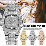 Luxury Watch Gold Diamond Watches Stainless Steel