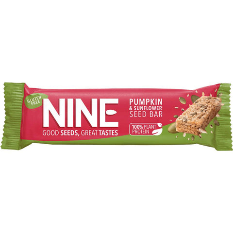 Nine - Pumpkin & Sunflower Seed Bar