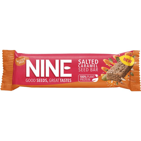 Nine - Salted Caramel Seed Bar