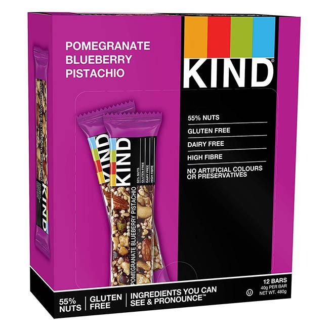 KIND - Pomegranate Blueberry Pistachio