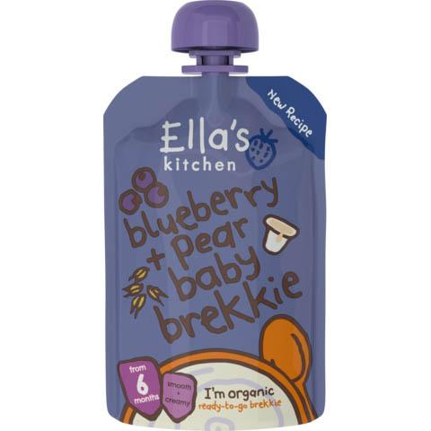 Ella's Kitchen - Baby Brekkie + Blueberry Pear