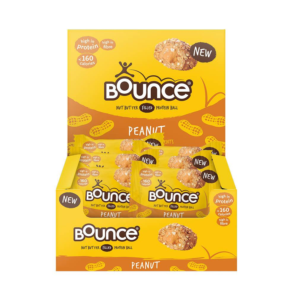 Bounce Nut Butter Filled Protein Ball - Peanut