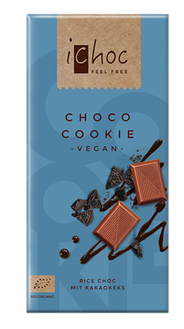 iChoc Vegan Chocolate - Choco Cookie
