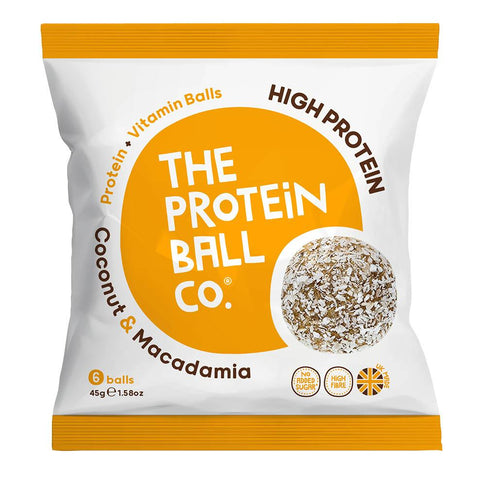 The Protein Ball Co. Protein Balls - Coconut & Macadamia