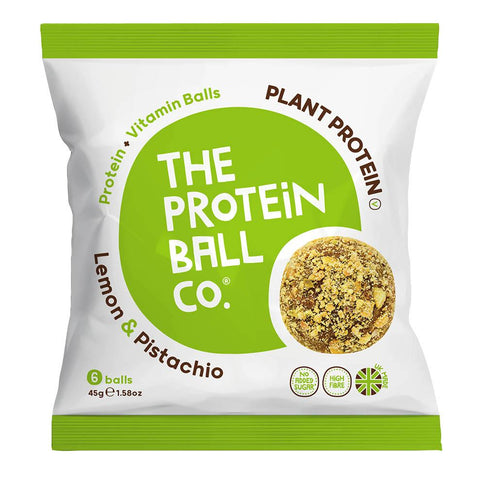 The Protein Ball Co. Protein Balls - Lemon & Pistachio