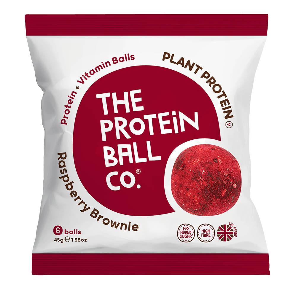 The Protein Ball Co. Protein Balls - Raspberry Brownie