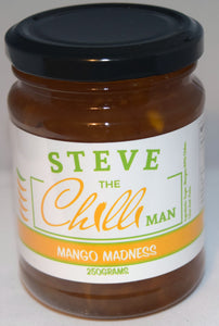 Mango Madness Chilli Jam - 250grams- Heating Rating of 4/5
