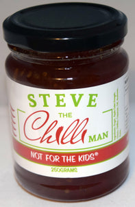 Not For The Kids Chilli Jam - 250grams- Heating Rating of 12/5