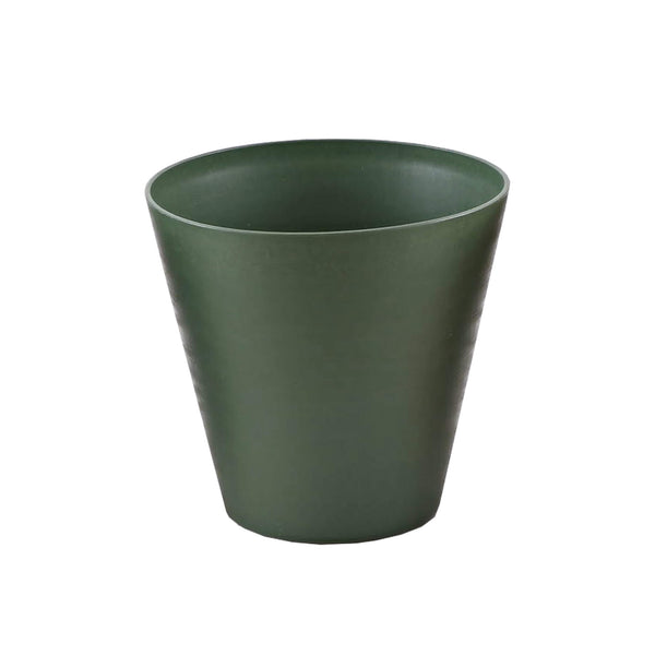 30cm green plastic self watering planter