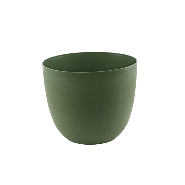 48cm green plastic self-watering plant pot